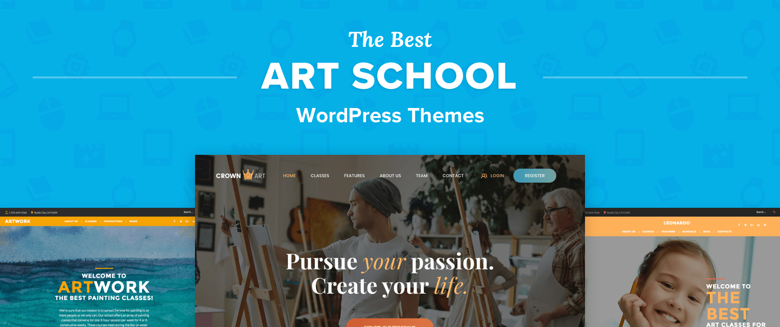 Art School Wordpress Themes
