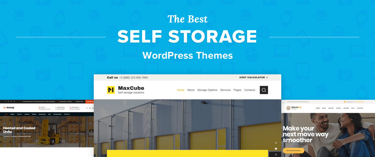Self Storage WordPress Themes