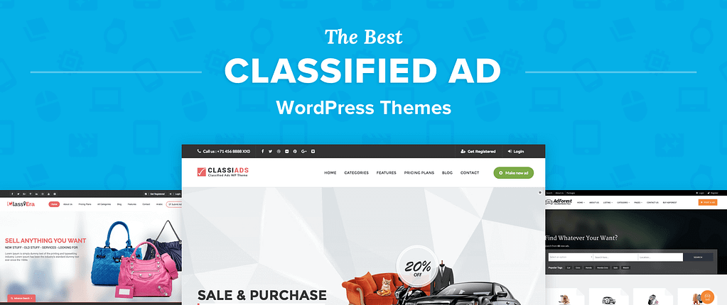 Classified Ad WordPress Themes