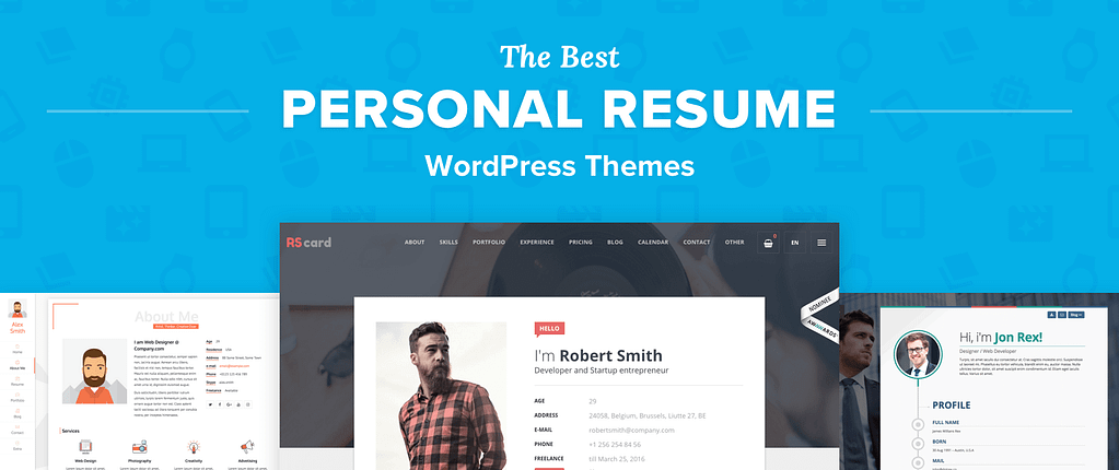 Wordpress Resume Themes