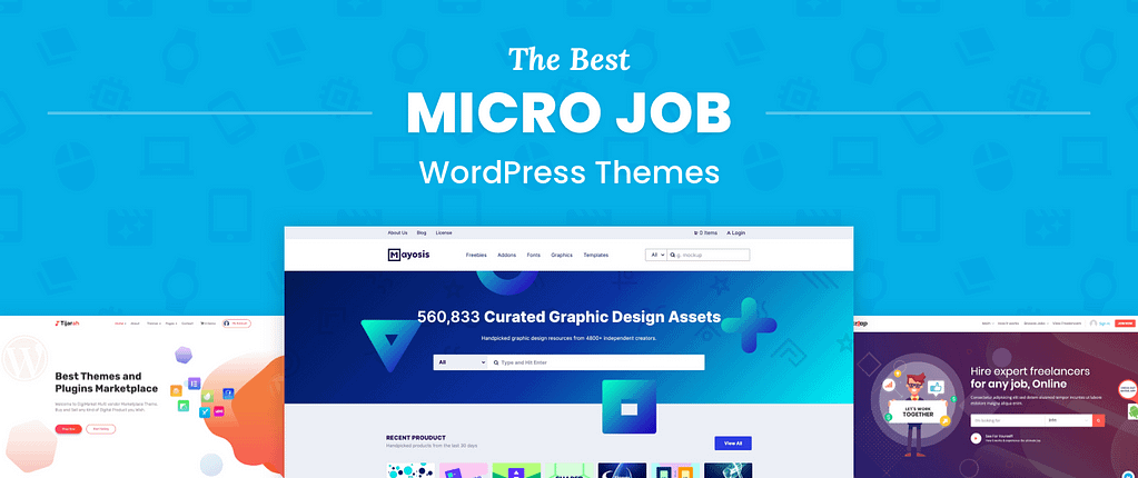 Micro Job WordPress Themes
