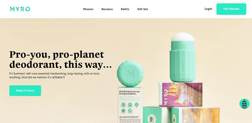 Myro Homepage