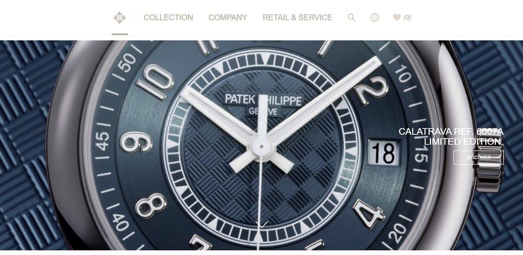 Patek Philippe Homepage
