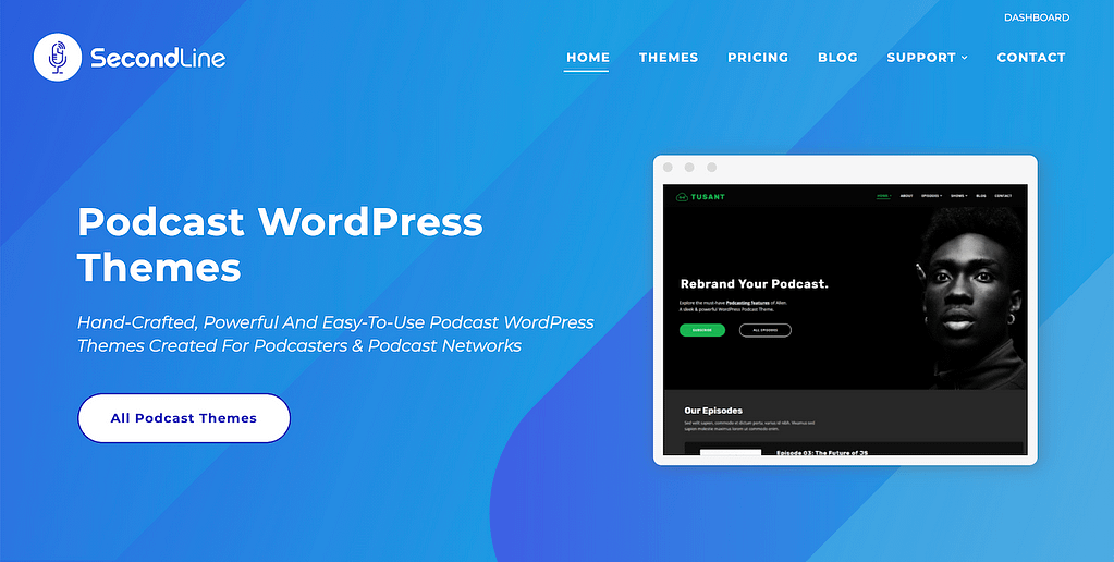 Secondline Themes Website