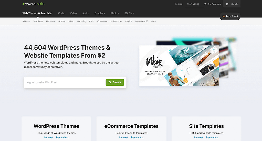 Themeforest Website