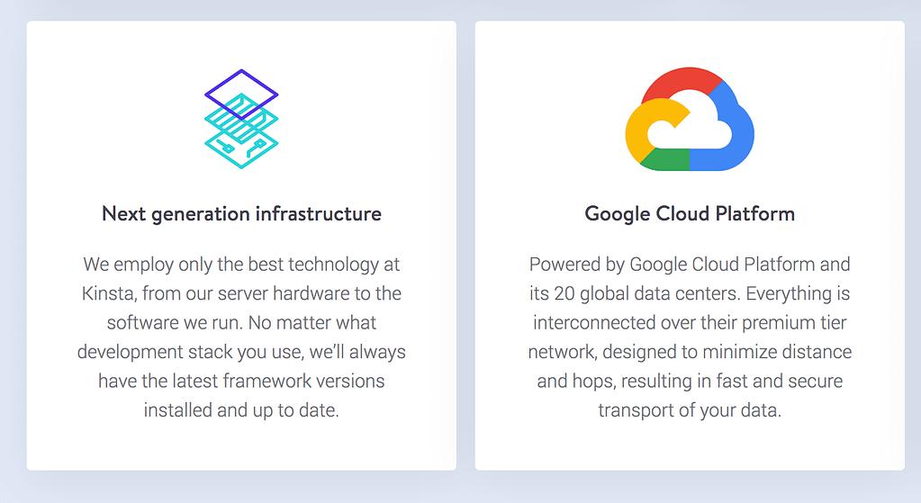 Kinsta Infrastructure