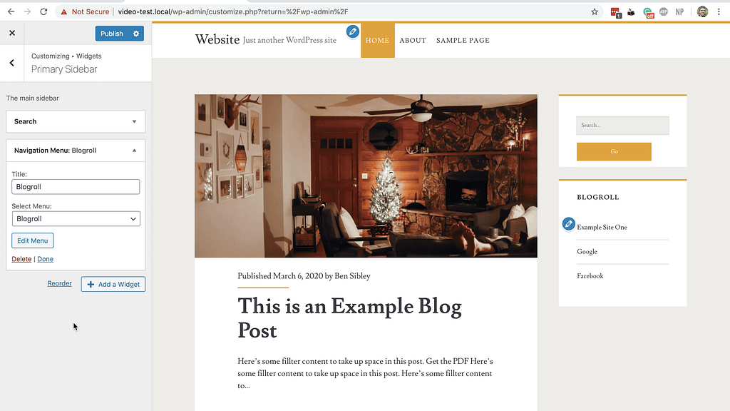 Blogroll Live