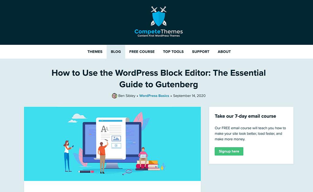 Wordpress Gutenberg Editor tutorial