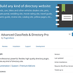 Advanced Classifieds Directory Pro