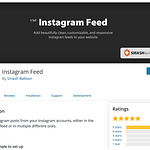 Instagram Feed free plugin