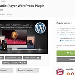 Native Web Radio Player