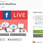 Livestream Social For WordPress