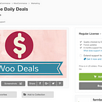WooCommerce Daily Deals