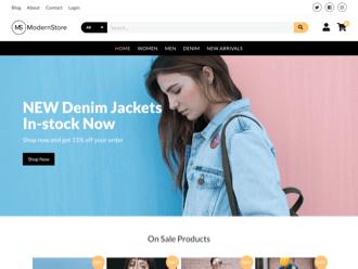 Modern Stores WordPress theme