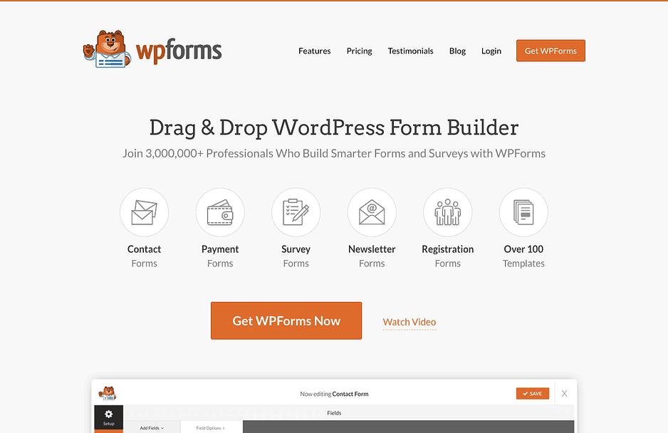 wordpress custom content builder
