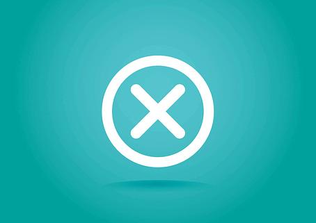 """""""X"""" icon"""