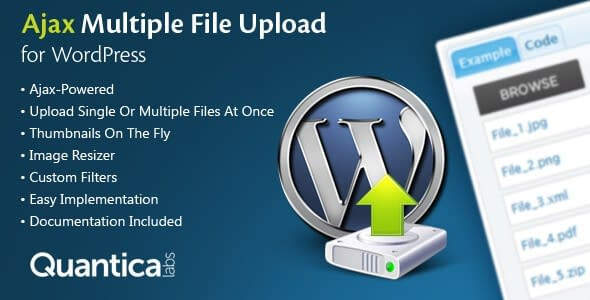 Ajax Multi Upload plugin