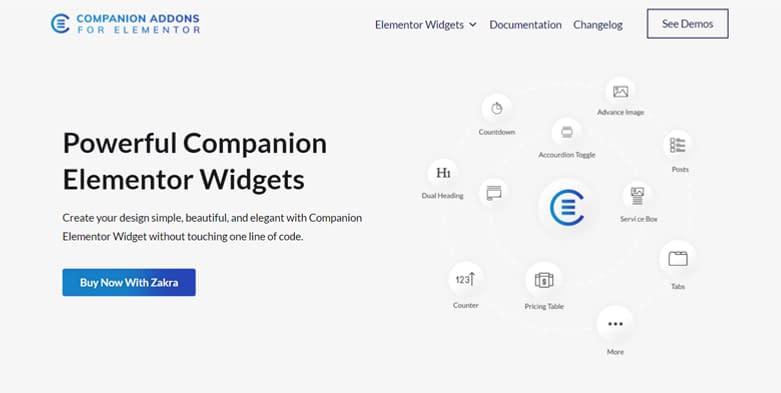 Companion Addons for Elementor