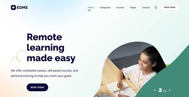 Edme Education WordPress Theme