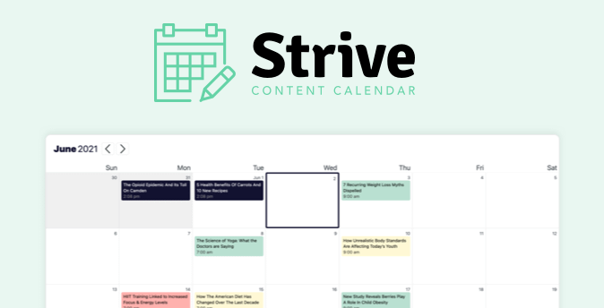 Strive Calendar Plugin
