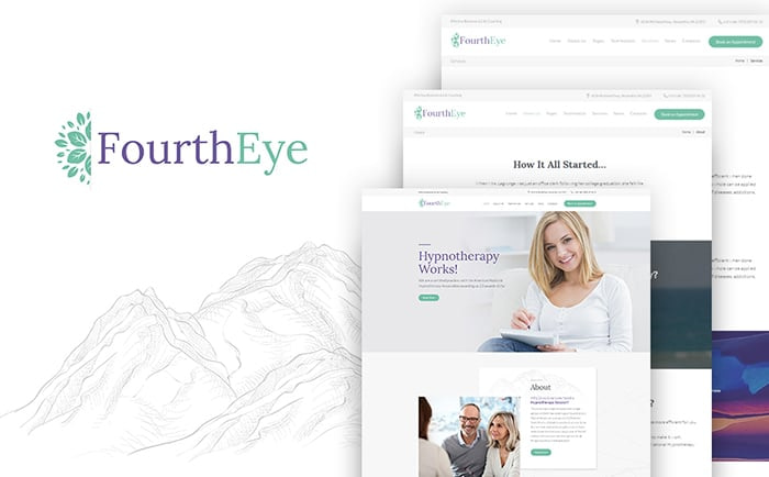 FourthEye medical WP template