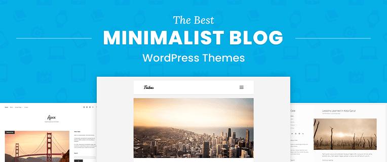 Minimalist Blog WordPress Themes