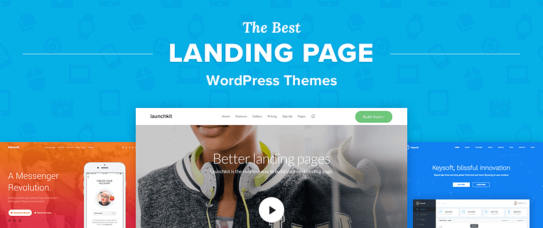 Landing Page Wordpress Themes