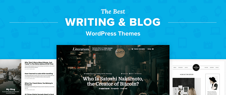 WordPress Themes for Writers