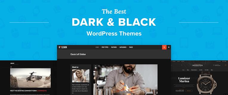Dark WordPress Themes