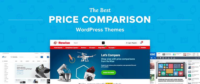 Price Comparison Wordpress Themes