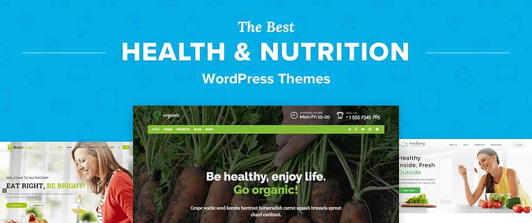 Nutrition WordPress Themes