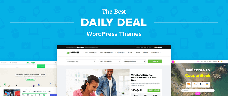 Best Daily Deal WordPress Themes