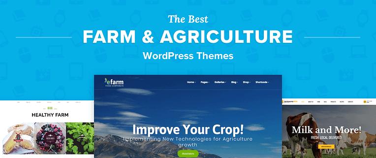 Farming Wordpress Themes
