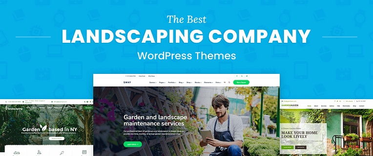 WordPress Landscaping Themes