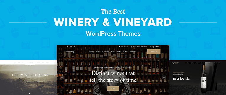 Best Winery WordPress Themes