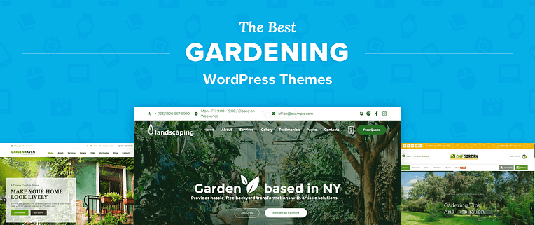 Gardening WordPress Themes