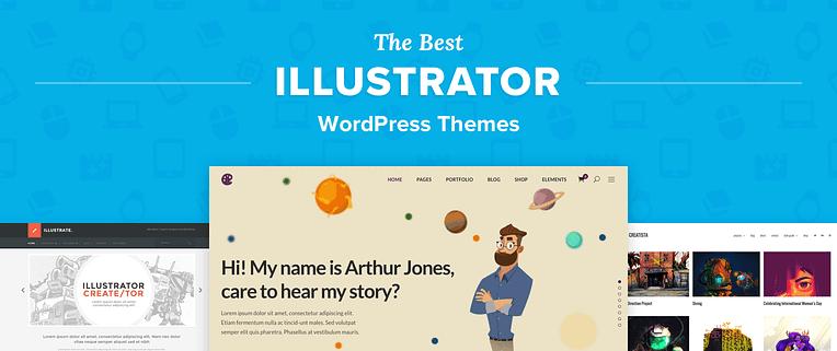 Illustrator WordPress Themes