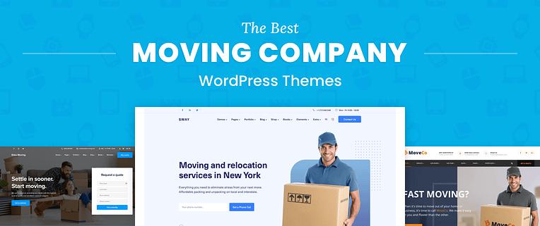 Moving Company WordPress Themes