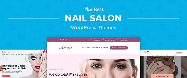 Nail Salon Wordpress Themes