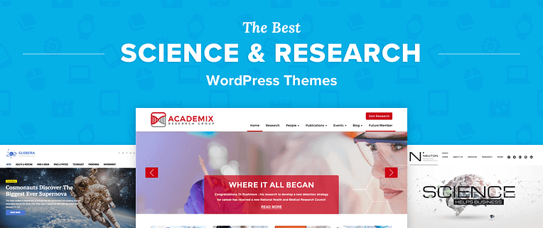 Science WordPress Themes