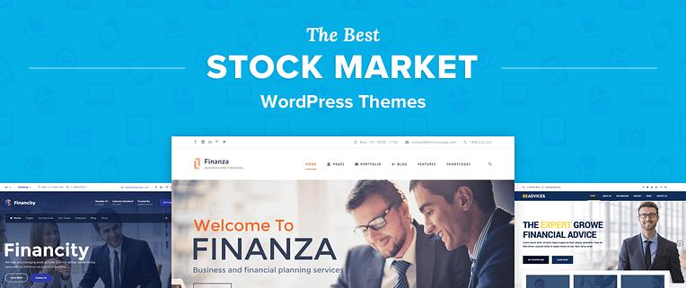 Stock Market Wordpress Themes
