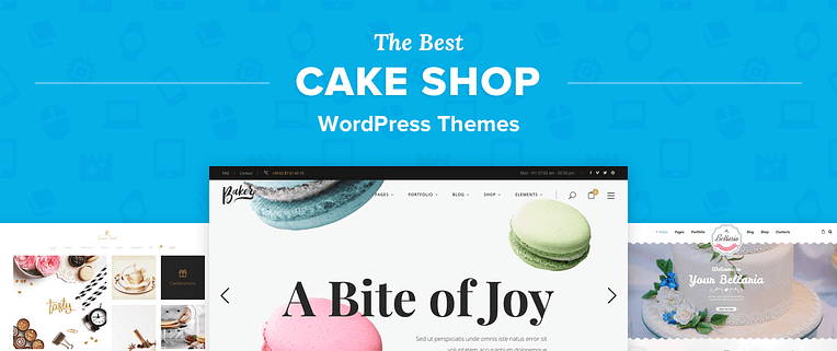 Cake Shop WordPress Themes