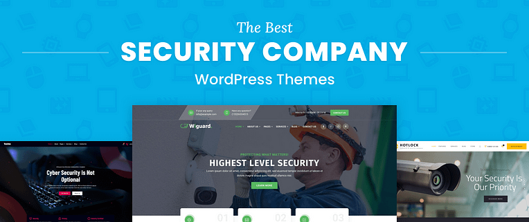 Security Company WordPress Themes
