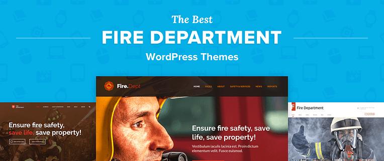 Fire Department WordPress Themes