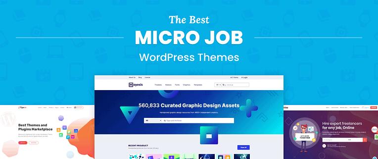 Micro Job WordPress Themes