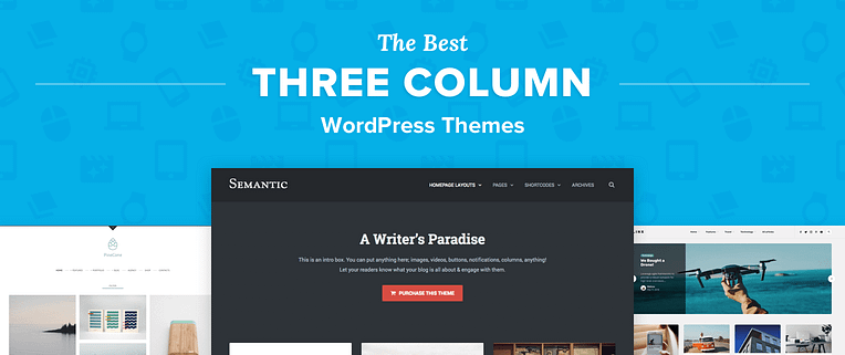Three Column WordPress Themes