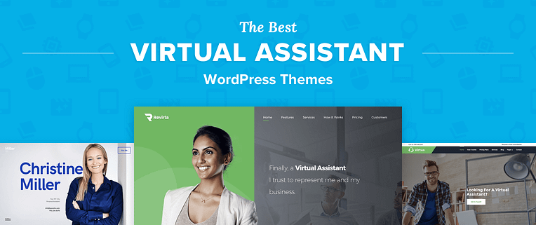 Virtual Assistant WordPress Themes
