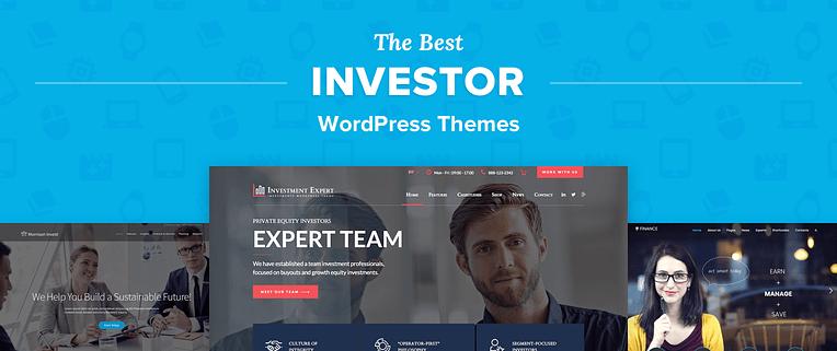 Investor WordPress Themes