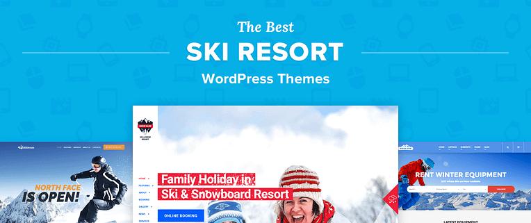 Ski Resort WordPress Themes