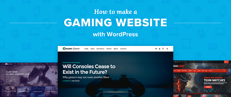 How to Make a Gaming Website